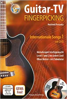 Buch Fingerpicking-Internationale Songs Band 1