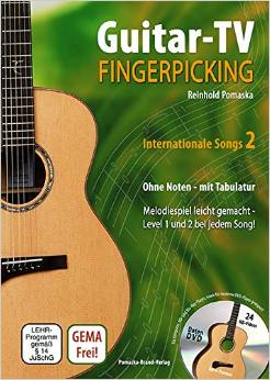 Buch Fingerpicking-Internationale Songs Band 2